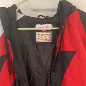 Mitchell & Ness Men Chicago Bulls Authentic Jacket